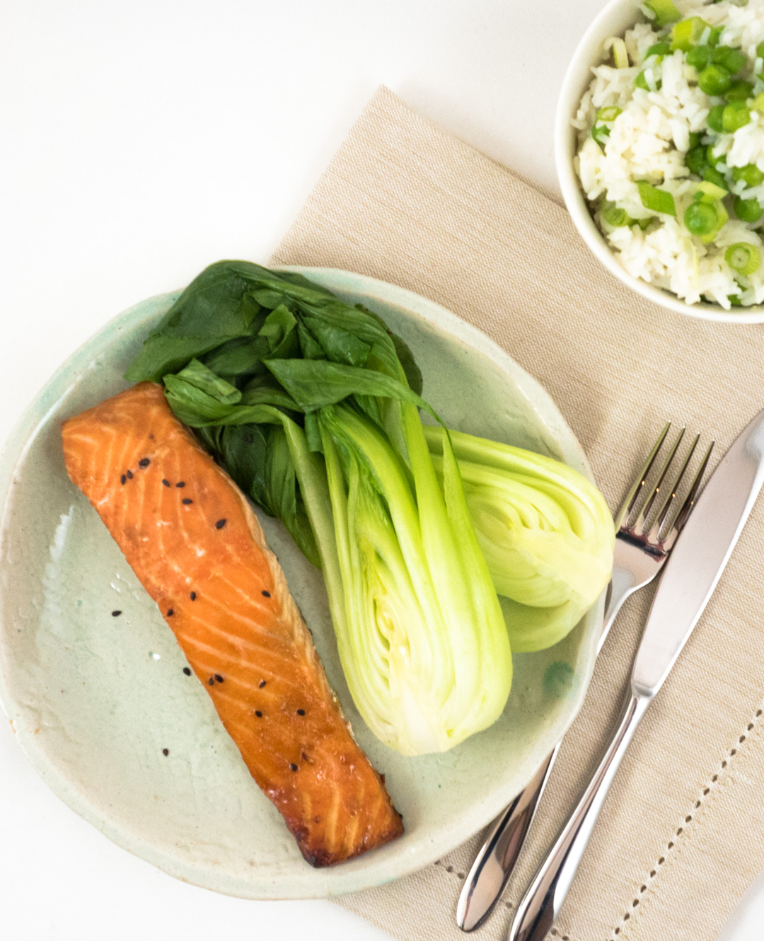 How To Cook Japanese Salmon Rice By Trisha Alexander When Ites To Quick Cooking  Salmon Is A Dream And Although Delicious Cooked As It Is