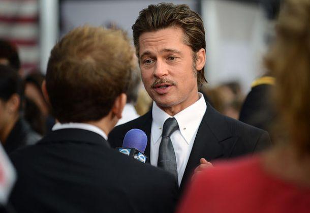 Brad Pitt is Vegan Activist