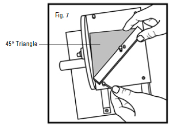 Another Method For Adjusting A Logan Precision Sander