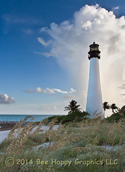 Cape Florida Light in color