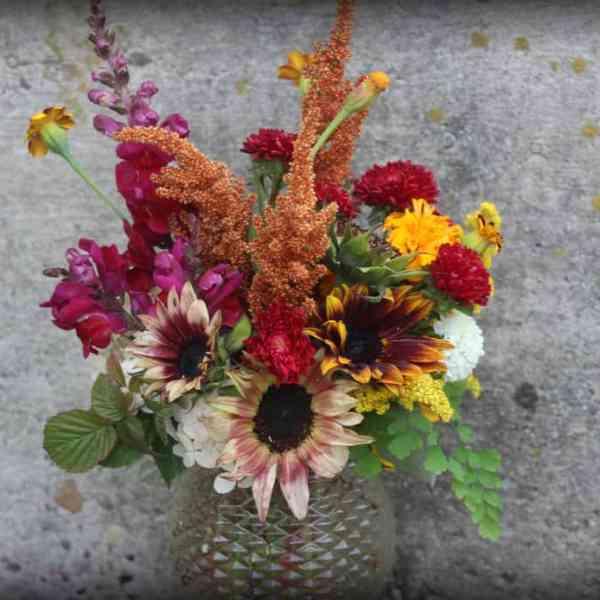Medium Vased Bouquet