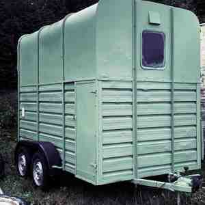Converted Horsebox - mobile shop