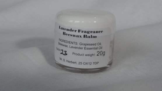 Lavender Fragrance Beeswax Balm