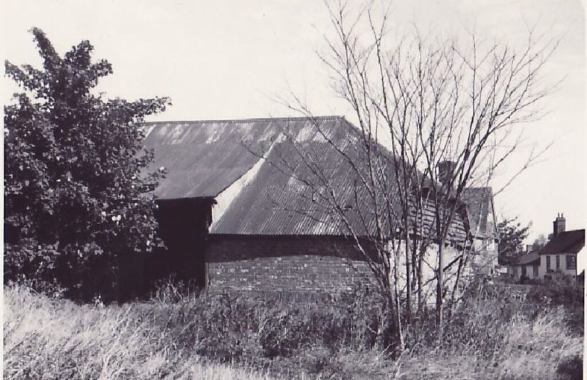 Feature 3 - the Barn.  Near the Apiary Worlds End Beedon.