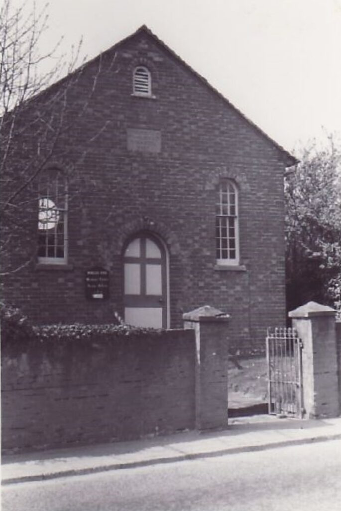 Wesleyan Chaple Worlds End May 1973