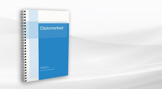 Diplomarbeit gedruckt in best mglicher Qualitt und innert krzester Zeit