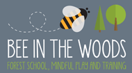 Bee In The Woods Logo