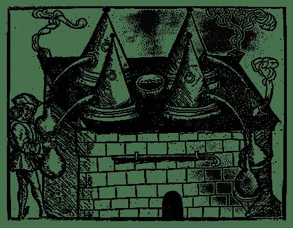Distilleeroven, Liber de art distillandi de compositis, 1500