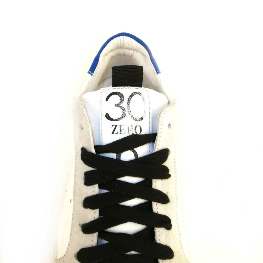 Sneakers sportive in vera pelle