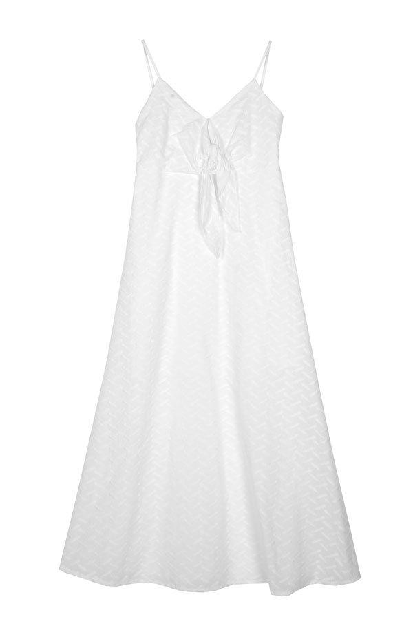 vestto lungo bianco
