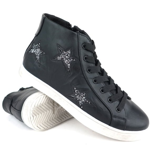 Sneakers con zip laterale