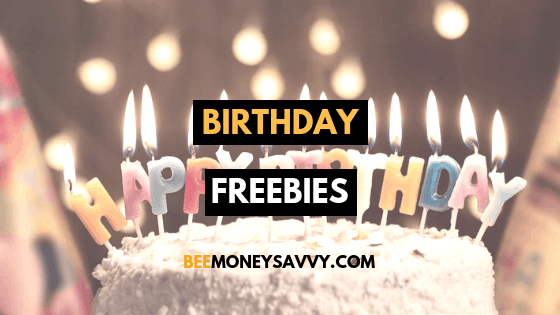Free Treats on your Birthday