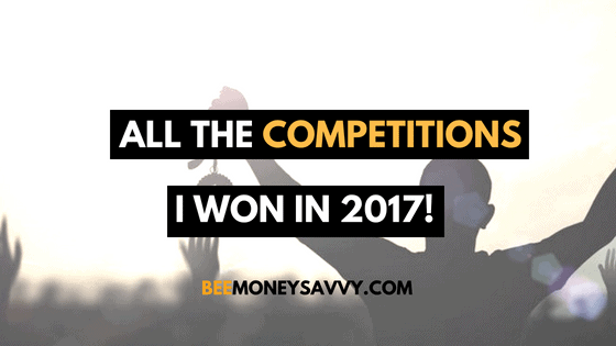Competition Winnings: 2017
