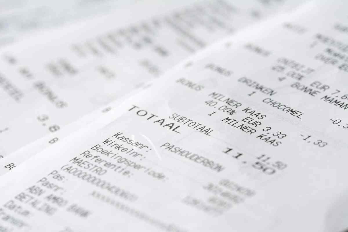 paid receipts