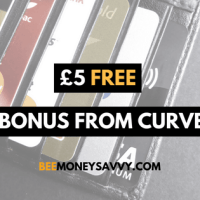 Curve: £5 Free Bonus with Cashback Card