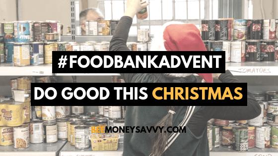 #FoodBankAdvent – Do Good This Christmas
