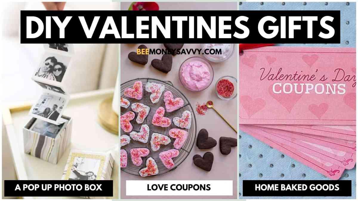 DIY Valentines Gift Ideas