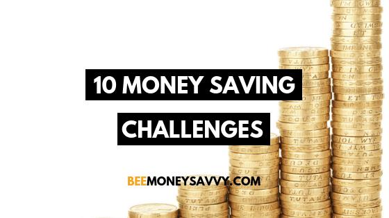 10 Money Saving Challenges