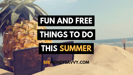 Fun and Free Things to do This Summer