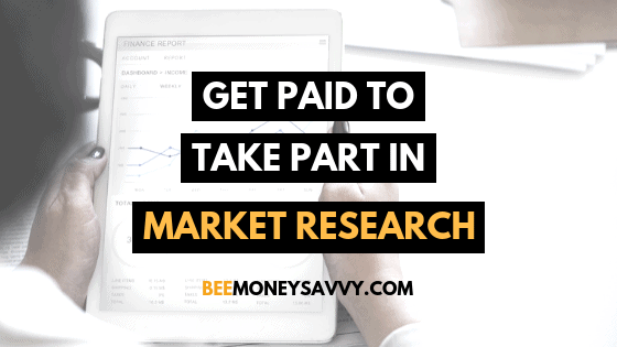 Get Paid to Take Part in Market Research