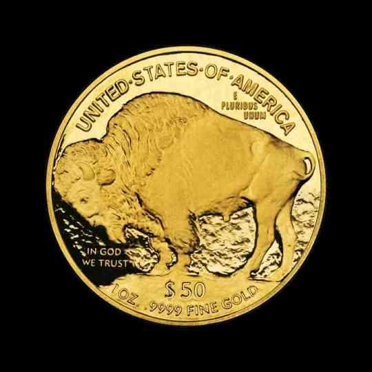 American Buffalo Golden Coin