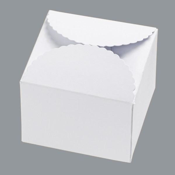 Papierbox weiß
