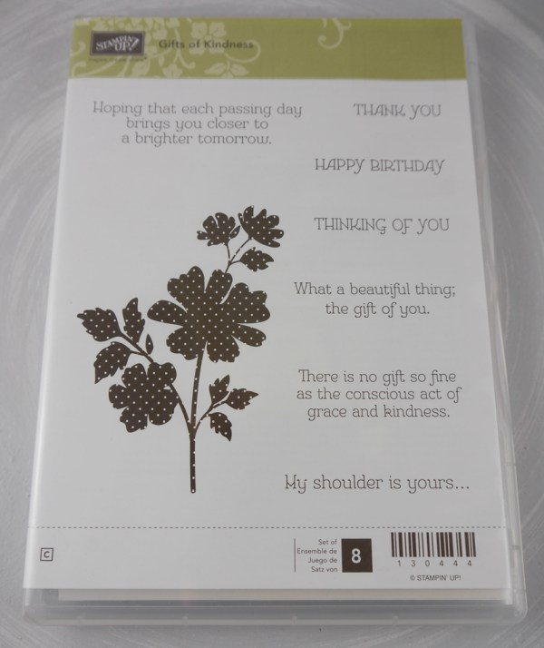 Stampin Up Gift of Kindness