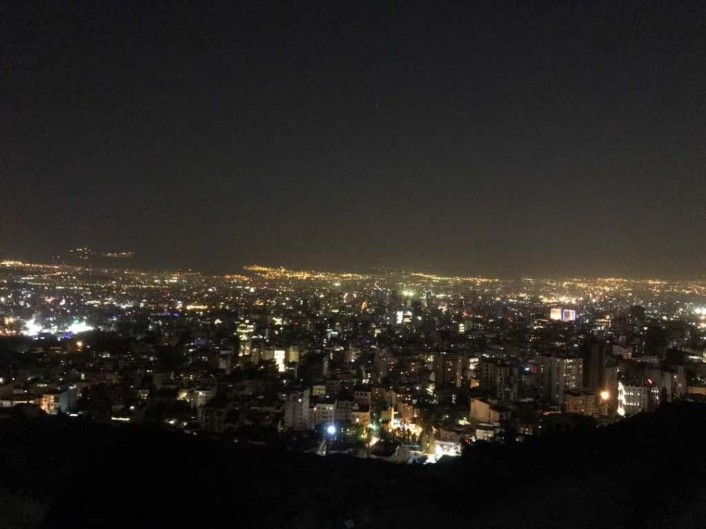 teheran by night