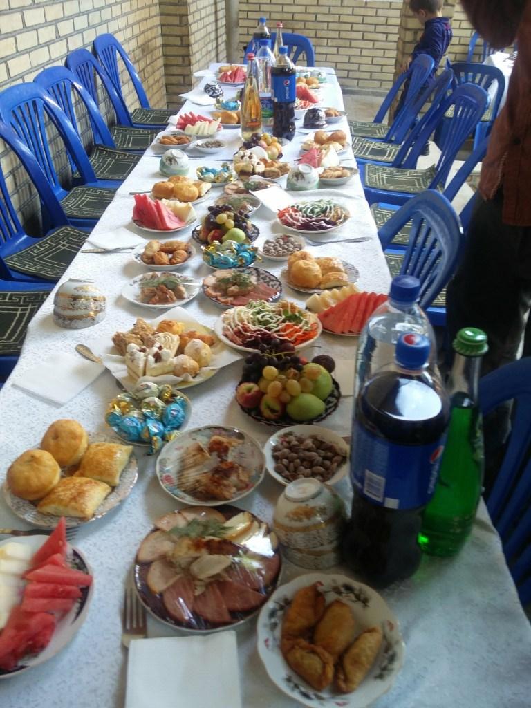 buffet uzbekistan