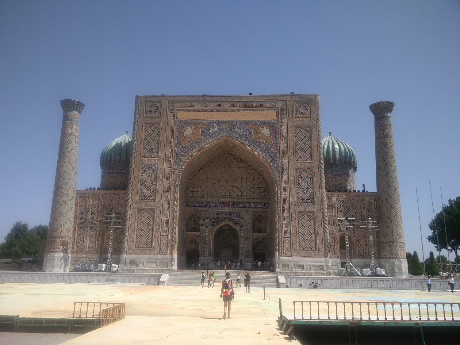 Samarkand : Registan, mausoleums and mosques