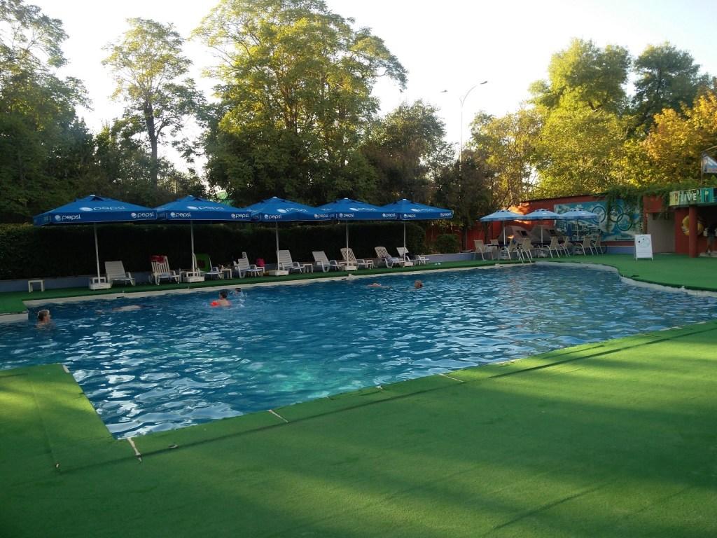 pool hotel turkmenistan central asia