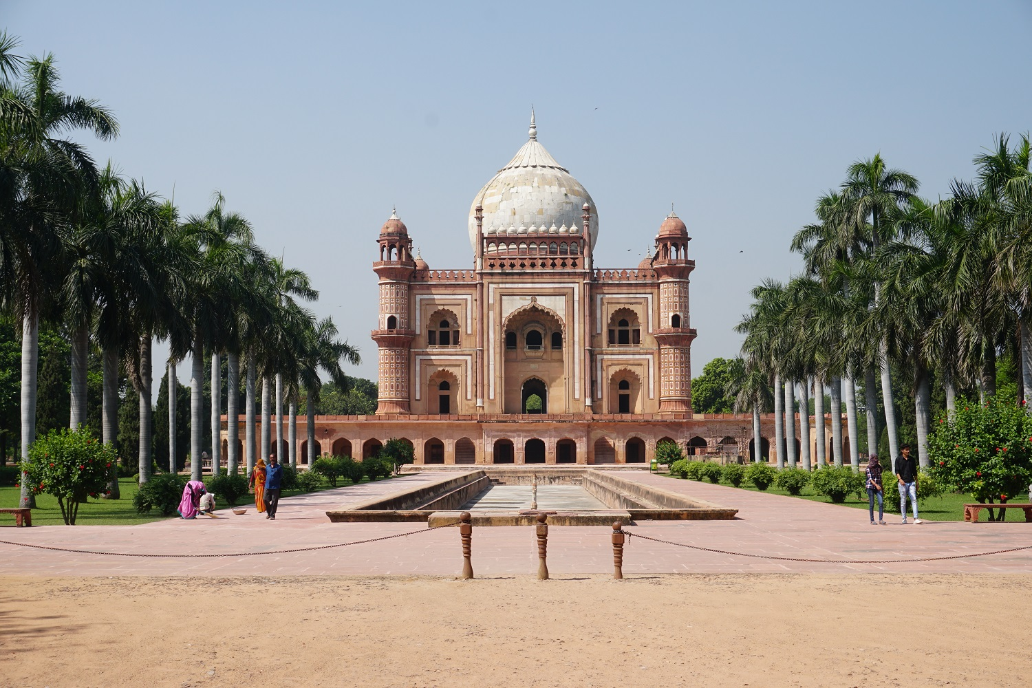 Discovering New Delhi, India