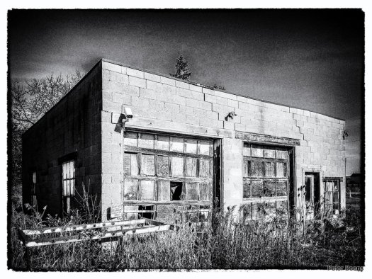 Old Garage in Caledonia