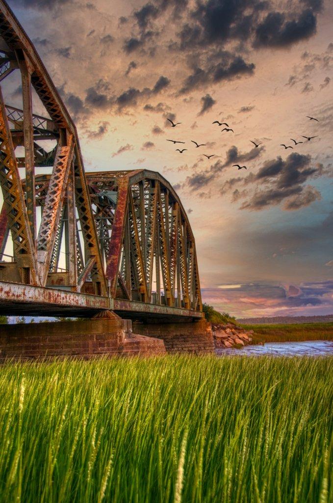 Railroad Bridge, Sackville, NB