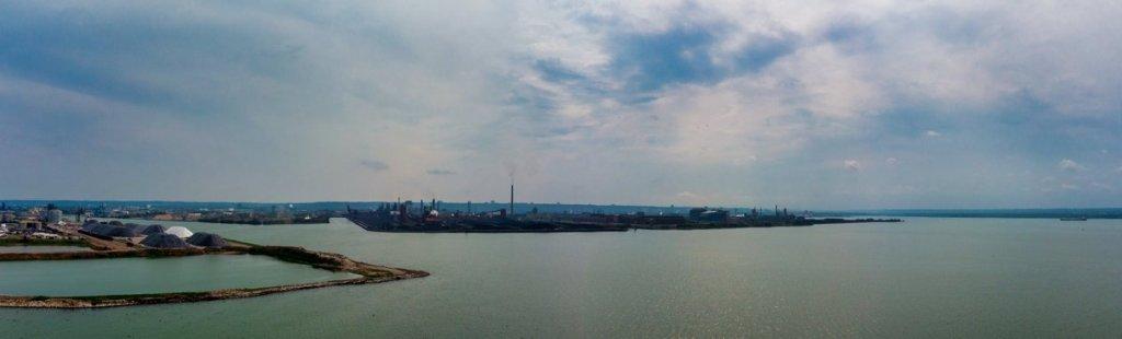 Hamilton Harbour Panorama in Colour