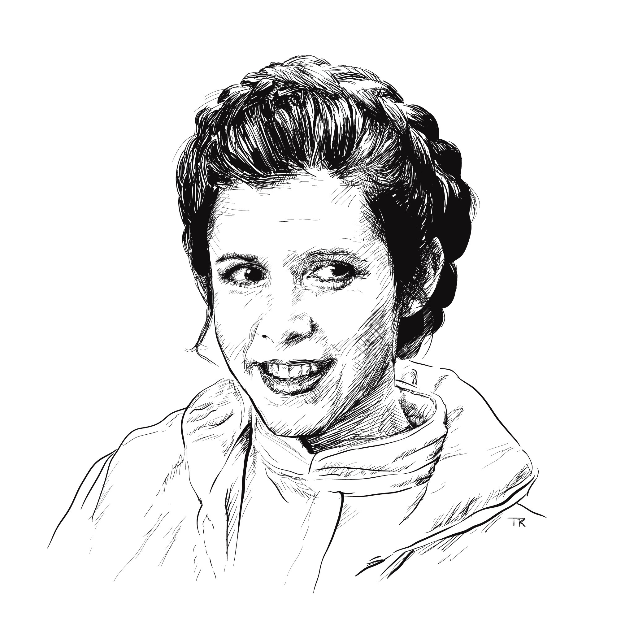 Remembering Carrie Fisher, by @tomralston on Ello