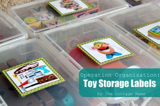 organiser les jouets pictogrammes