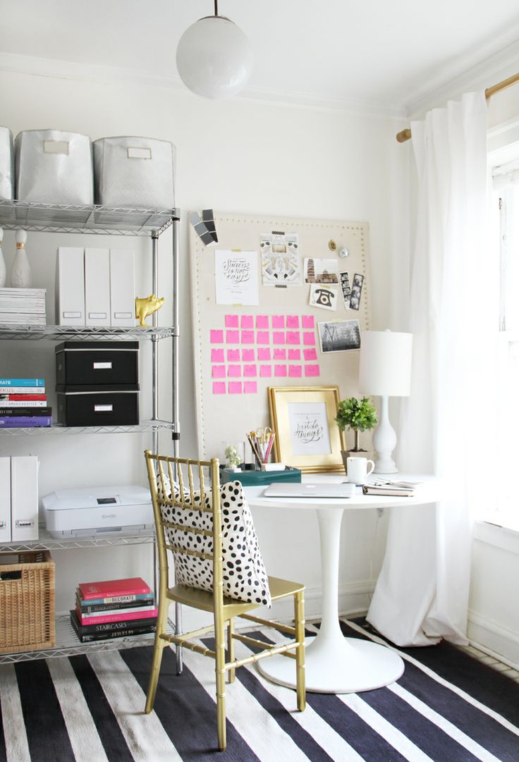 S\'aménager un coin bureau à la maison - Bee Organisée