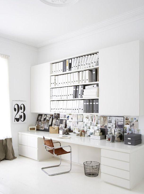s 39 am nager un coin bureau la maison bee organis e. Black Bedroom Furniture Sets. Home Design Ideas