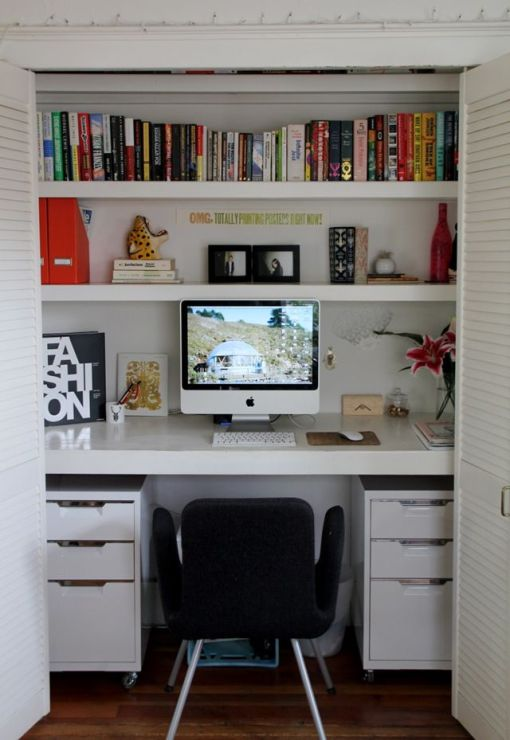 Turn That Unused Room Of The House Into This: S'aménager Un Coin Bureau à La Maison