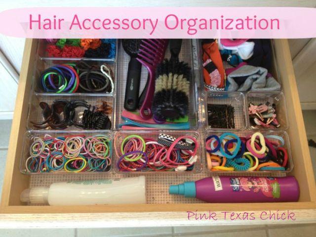 tiroir pour accessoires cheveux
