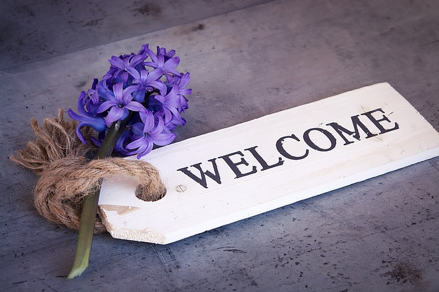 Bienvenue - première visite ?