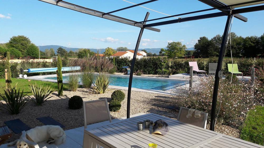 Amnagement terrasse piscine extrieure Amnagement abord plage de piscine Clermontferrand
