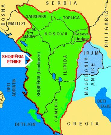 gross albanien