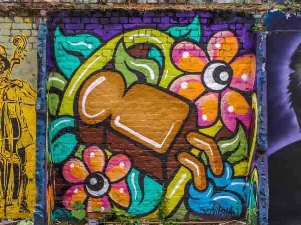 Brick Lane Street Art Of Shoreditch London'