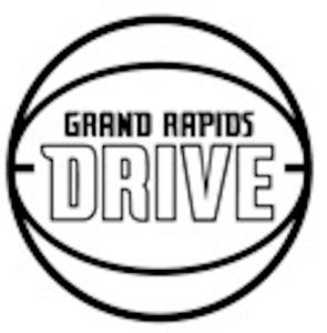drive logo bw