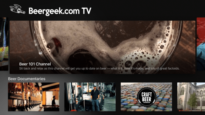 Beergeek.com TV Screen Shot