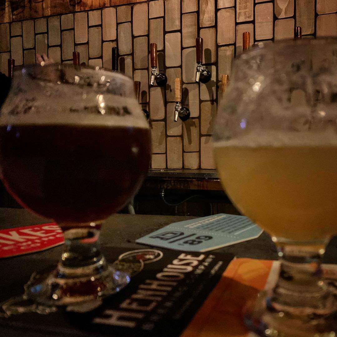 Kveiking Raid at @olddevilmoonsf – great beers featuring the Kveik style@of Norwegian yeast