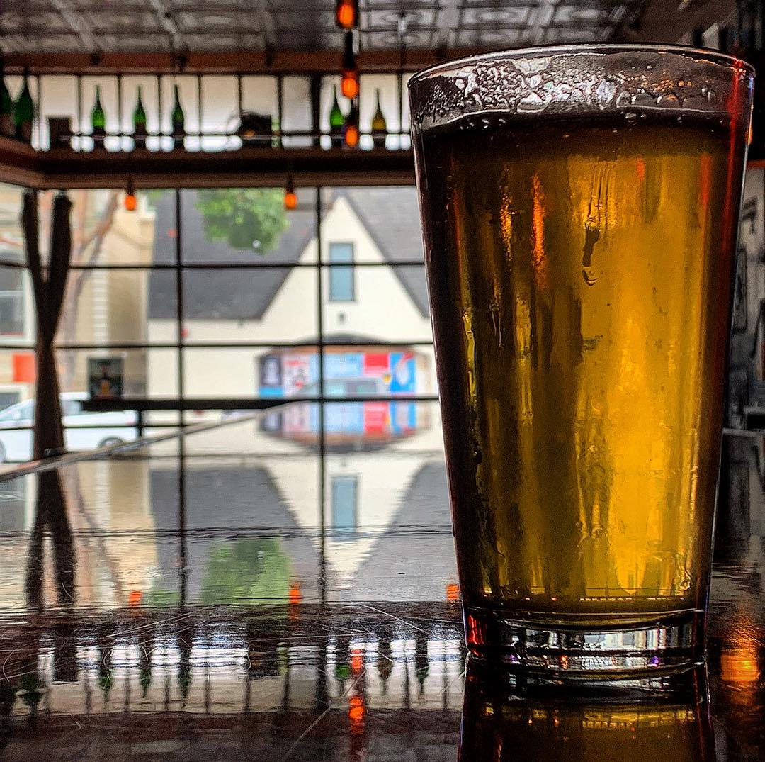 Rainy weekends are for day drinking and Blind Pig