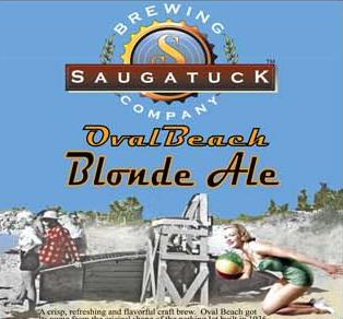 Saugatuck Oval Beach Blond Ale  Beer Infinity